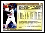 1999 Topps Traded #95 T Charles Johnson  Back Thumbnail