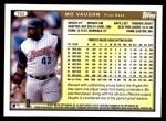 1999 Topps Traded #82 T Mo Vaughn  Back Thumbnail