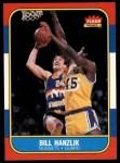 1986 Fleer #43  Bill Hanzlik  Front Thumbnail