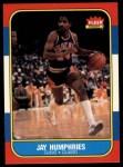 1986 Fleer #49  Jay Humphries  Front Thumbnail