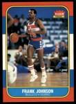 1986 Fleer #52  Frank Johnson  Front Thumbnail