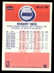 1986 Fleer #90  Robert Reid  Back Thumbnail