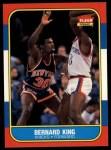 1986 Fleer #60  Bernard King  Front Thumbnail