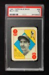1951 Topps Blue Back #48  Billy Cox  Front Thumbnail