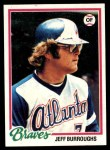 1978 Topps #130  Jeff Burroughs  Front Thumbnail