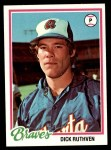 1978 Topps #75  Dick Ruthven  Front Thumbnail