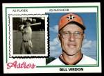 1978 Topps #279  Bill Virdon  Front Thumbnail