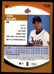 2002 Topps Traded #139 T Eddie Rogers  Back Thumbnail