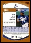 2002 Topps Traded #135 T Angel Berroa  Back Thumbnail