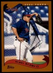 2002 Topps Traded #69 T Henry Blanco  Front Thumbnail