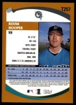 2002 Topps Traded #257 T Kevin Hooper  Back Thumbnail