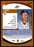 2002 Topps Traded #227 T Jason Bay  Back Thumbnail