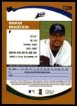 2002 Topps Traded #209 T Dewon Brazelton  Back Thumbnail