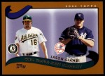 2002 Topps Traded #273 T  -  Jason Giambi Who Would Have Thought Front Thumbnail