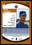 2002 Topps Traded #181 T Blake McGinley  Back Thumbnail