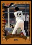 2002 Topps Traded #180 T Jose Bautista  Front Thumbnail