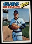 1977 Topps #219  Joe Coleman  Front Thumbnail