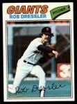 1977 Topps #11  Rob Dressler  Front Thumbnail