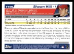 2004 Topps Traded #145 T  -  Shawn Hill First Year Back Thumbnail