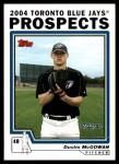 2004 Topps Traded #96 T Dustin McGowan  Front Thumbnail