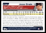 2004 Topps Traded #134 T  -  Jesse Crain First Year Back Thumbnail