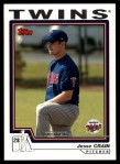 2004 Topps Traded #134 T  -  Jesse Crain First Year Front Thumbnail