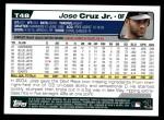 2004 Topps Traded #48 T Jose Cruz Jr.  Back Thumbnail