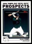 2004 Topps Traded #93 T Jonny Gomes  Front Thumbnail