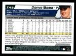 2004 Topps Traded #43 T Danys Baez  Back Thumbnail