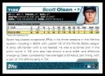 2004 Topps Traded #122 T  -  Scott Olsen First Year Back Thumbnail