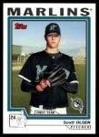 2004 Topps Traded #122 T  -  Scott Olsen First Year Front Thumbnail