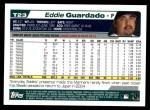 2004 Topps Traded #23 T Eddie Guardado  Back Thumbnail