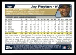 2004 Topps Traded #21 T Jay Payton  Back Thumbnail