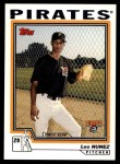 2004 Topps Traded #220 T  -  Leo Nunez First Year Front Thumbnail