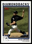 2004 Topps Traded #195 T  -  Dustin Nippert First Year Front Thumbnail