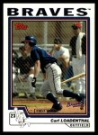 2004 Topps Traded #184 T  -  Carl Loadenthal First Year Front Thumbnail