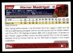 2004 Topps Traded #157 T  -  Warner Madrigal First Year Back Thumbnail