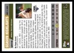 2005 Topps Update #115   -  Trevor Hoffman  Highlights Back Thumbnail