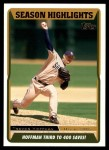 2005 Topps Update #115   -  Trevor Hoffman  Highlights Front Thumbnail