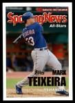 2005 Topps Update #147   -  Mark Teixeira All-Star Front Thumbnail