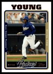2005 Topps Update #6  Eric Young  Front Thumbnail