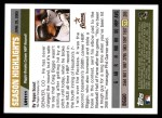 2005 Topps Update #111   -  Craig Biggio  Highlights Back Thumbnail