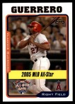 2005 Topps Update #180   -  Vladimir Guerrero All-Star Front Thumbnail