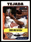 2005 Topps Update #179   -  Miguel Tejada All-Star Front Thumbnail