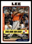 2005 Topps Update #197  Carlos Lee  Front Thumbnail