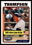 2005 Topps Update #212  Kevin Thompson  Front Thumbnail