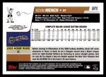 2006 Topps Update #78  Kevin Mench  Back Thumbnail