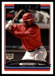 2006 Topps Update #144  Howie Kendrick  Front Thumbnail