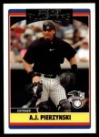 2006 Topps Update #239   -  A.J. Pierzynski All-Star Front Thumbnail
