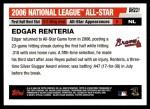 2006 Topps Update #231   -  Edgar Renteria All-Star Back Thumbnail